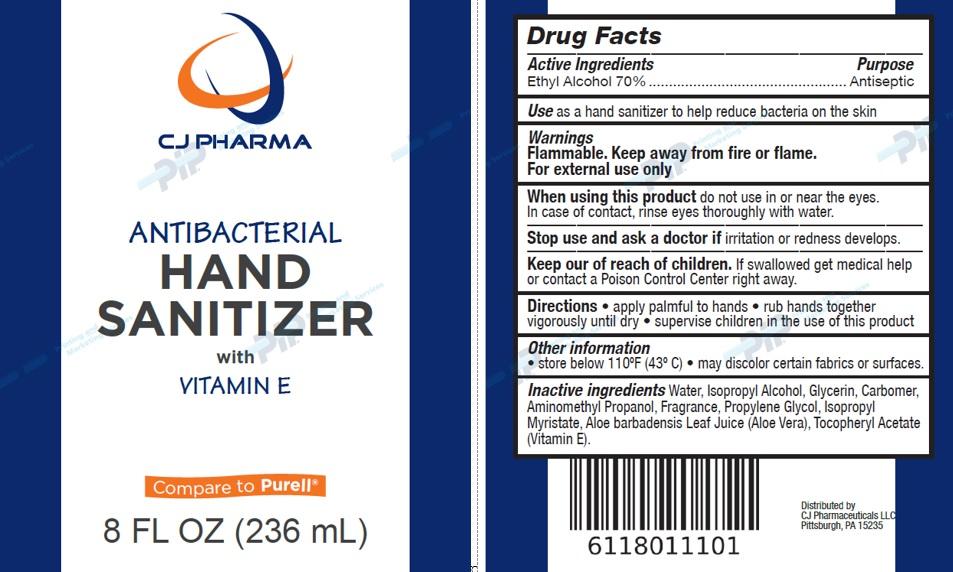 Antibacterial Hand Sanitizer with Vitamine E (CJ ...