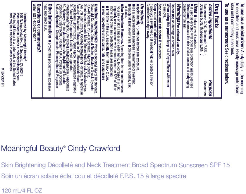 Meaningful Beauty Cindy Crawford Skin Brightening ...
