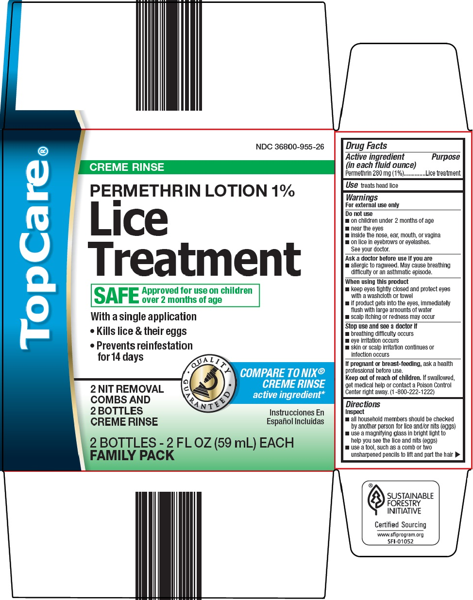 what is the treatment for lice