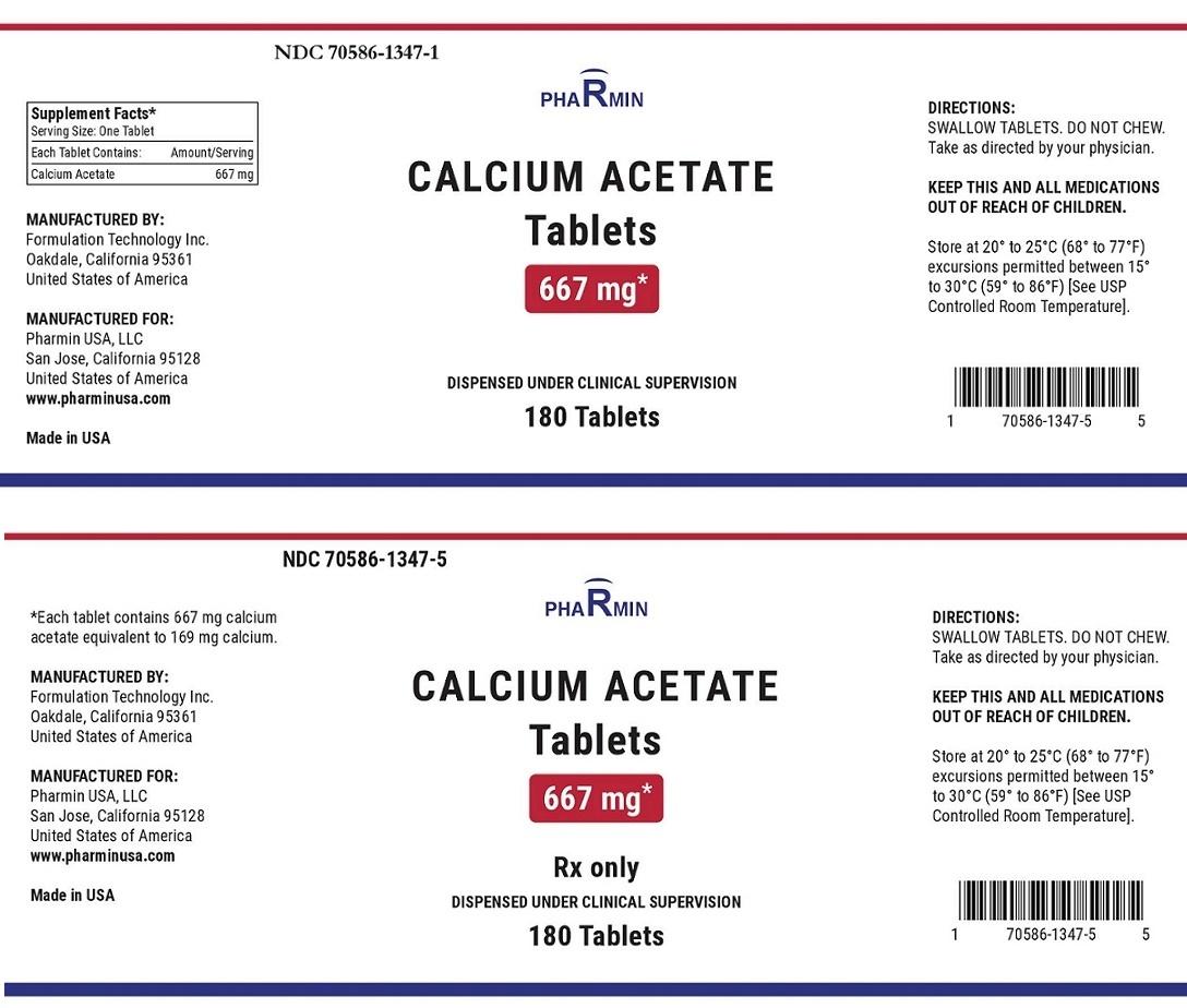 Calcium Acetate 667 Mg Classification
