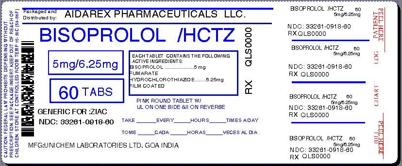 Bisoprolol Hctz 5 6.25