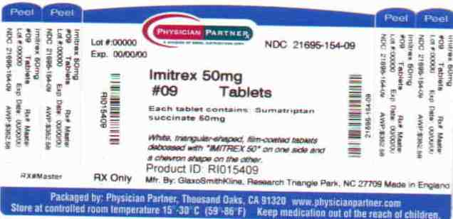 IMITREX (Rebel Distributors Corp): FDA Package Insert, Page 5
