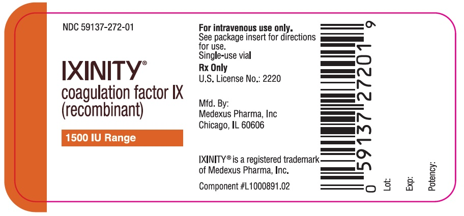 Ixinity (Cangene BioPharma): FDA Package Insert, Page 4