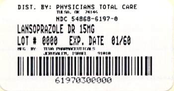 Lansoprazole patient information leaflet