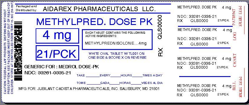 Medrol Dose Pack Prescribing Directions