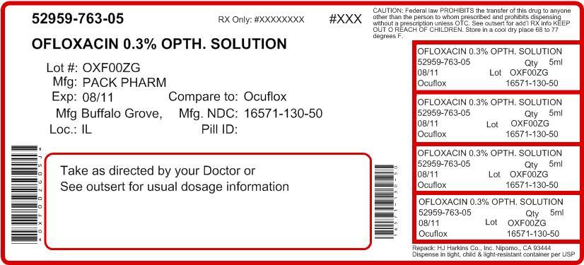 Ofloxacin Ophthalmic Solution Dosing