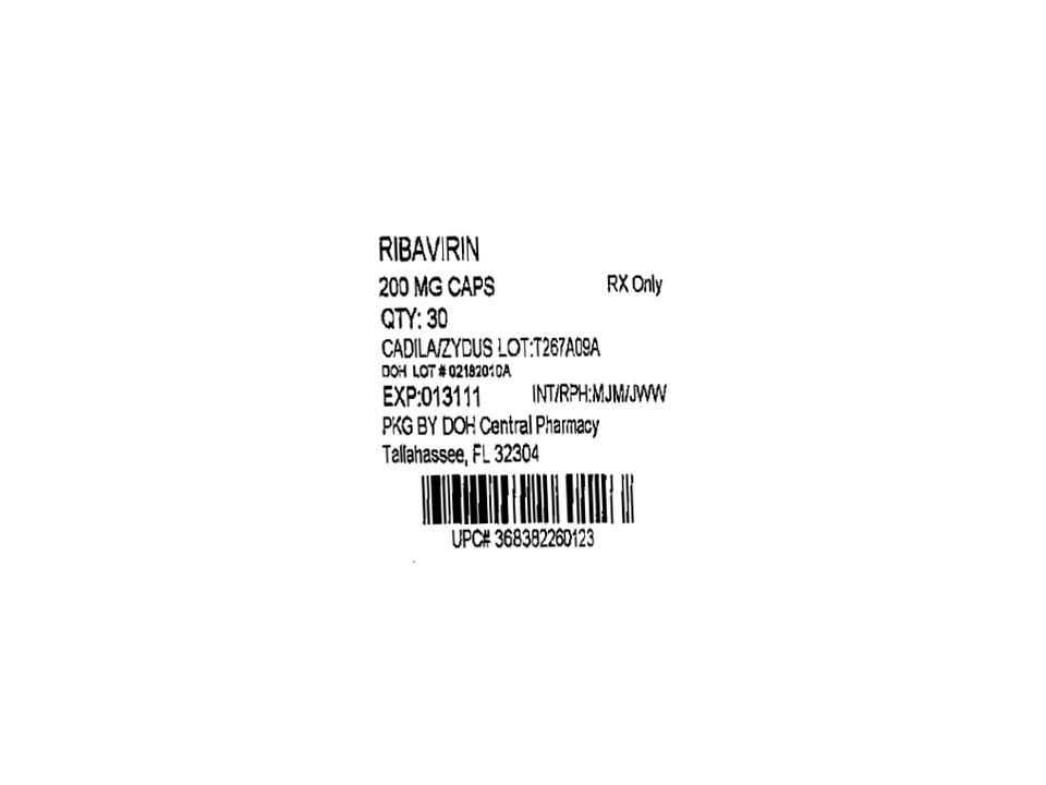 Ribavirin Package Insert Teva