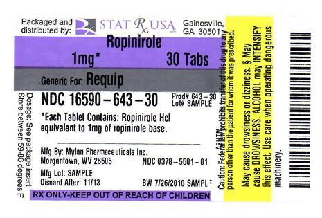 Ropinirole Generic Usa